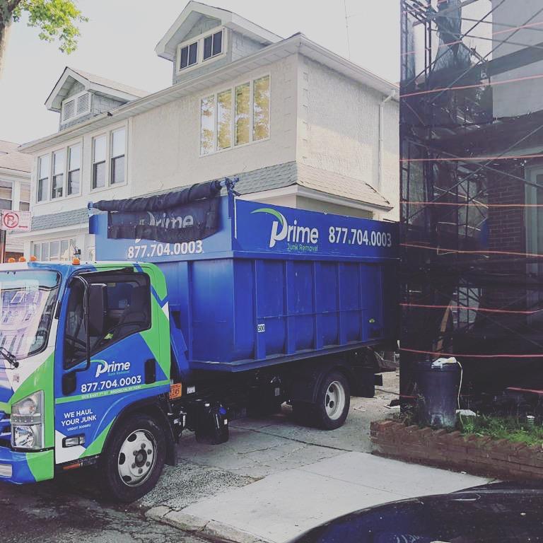 Prime Junk Removal Truck